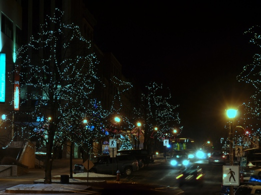 King Street dressed up for Christmas