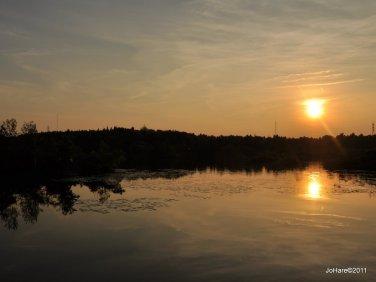 Lily Lake ~ sunset